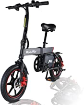 MoovWay Bicicleta Eléctrica Plegables, 350W Motor Bicicleta