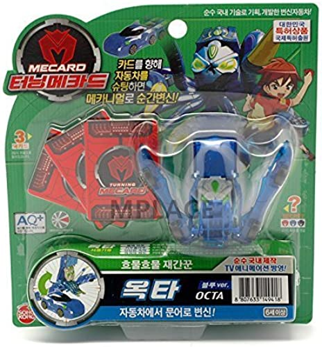 echa un vistazo a los más baratos OCTA azul-Turning Mecard Transforming Robot Car Toy by TURNING TURNING TURNING MECARD  tienda de descuento