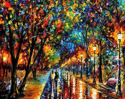 Large Wall Art Landscape Oil Painting On Canvas By Leonid Afremov — When Dreams Come True from