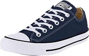 Converse Womens All Star Ox Low Chuck Taylor Chucks Sneaker Trainer - Navy - 9.5