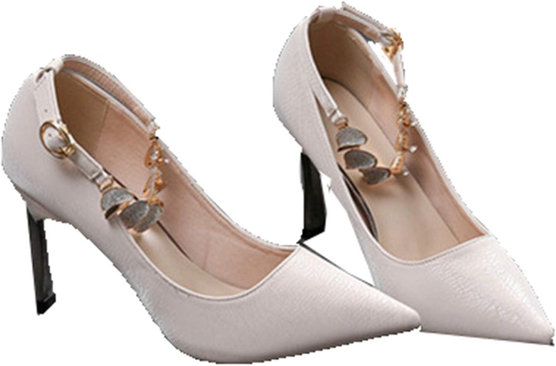 Generic1 Women Ankle Super sale period limited Strap High Autum Heels Dress Evening Spring Regular dealer