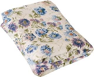 Flor de lis SwaddleDesigns Manta Envolvente Marquiseta Muselina de Algod/ón de calidad superior Azul
