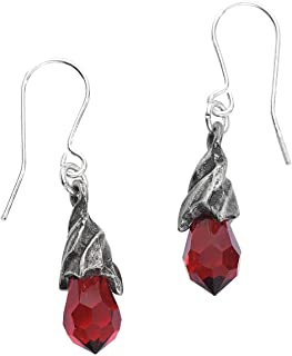Empyrean Tear Earrings (Red)