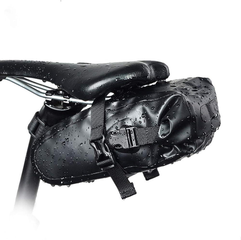 AHDA Bicycle Tail Bag Waterproof Large Capacity Rear Seat Bag Mountain Bike Tail Bag Road Riding Equipment Saddle Bag