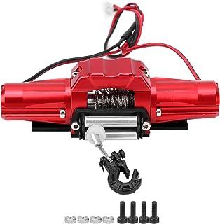 Dilwe RC lier, RC auto metalen lier met dubbele motor Compatibel met SCX10/TRX4 1/10 RC auto 81x27mm