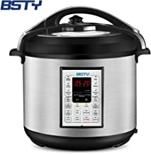 BSTY 13-in-1 Electric Programmable 8 Quart Easy-Seal Lid Pressure Cooker, Including Slow..