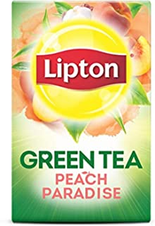Lipton Green Tea Bags, Superfruit, White Mangosteen & Peach, 20 ct, 3 pk