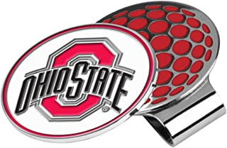 LinksWalker NCAA Ohio State Buckeyes Golf Hat Clip with Ball Marker