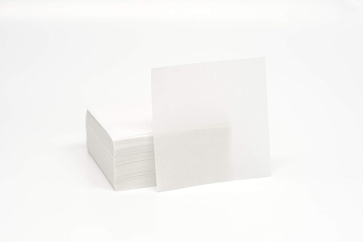 Parchment Squares 4x4 29# Dual Silicone - 1000 Sheets