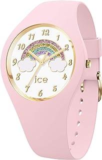 Ice-Watch - ICE fantasia Rainbow pink - Montre rose avec bracelet en silicone