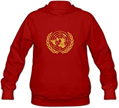 JJTD United Nations Very 100% Cotton Long Sleeve Hoodie for Adult