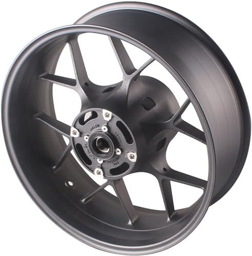 discount Mallofusa Motorcycle outlet online sale Matte Black Aluminum Rear Wheel Rim fits for Honda CBR1000RR outlet online sale 2012 2013 2014 online
