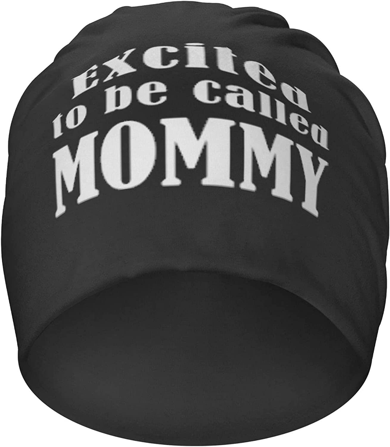 Excited to Be All stores are sold Called Mommy Hedging Beanies Sales for sale C Casual Cap Hat Knit
