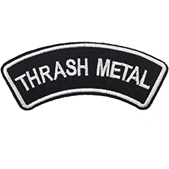 Thrash Metal Iron ON//SEW ON Patch