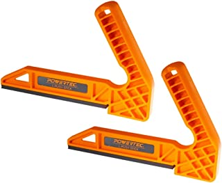 POWERTEC 71338 Plastic L-Push Stick | Deluxe L-Shaped Woodworking Push Tools – 2 Pack