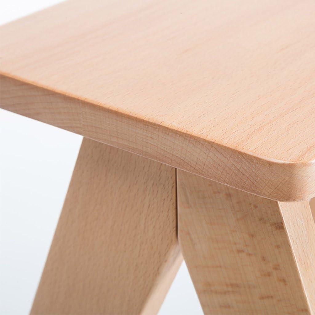 Zfggd Simple Brown Pliant Tabouret 3 Marchepied Chaises Portable Déplacement Polyvalent Cuisine Tabouret et Banc étapes sur Les Deux côtés Seat Cover Lavable (Color : Blue) Blue