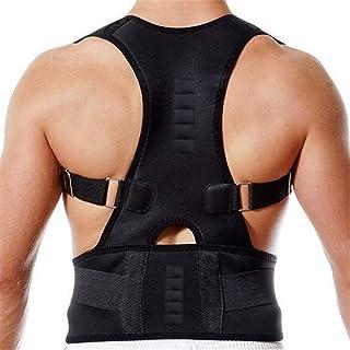 Unisex Adjustable Back Brace Posture Corrector Spine Support Shoulder Support Belt Corrective