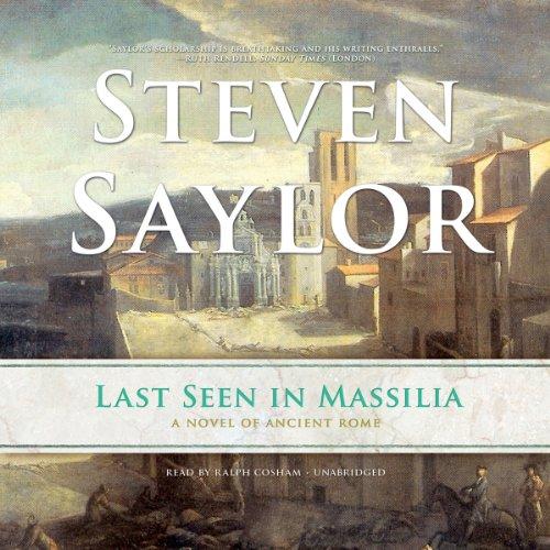 Last Seen in Massilia audiobook cover art