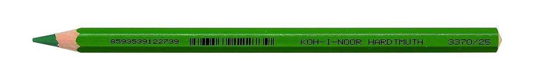 Koh-I-Noor Jumbo Coloured Pencil, Wood Meadow Green, 17 x 2 x 2 cm