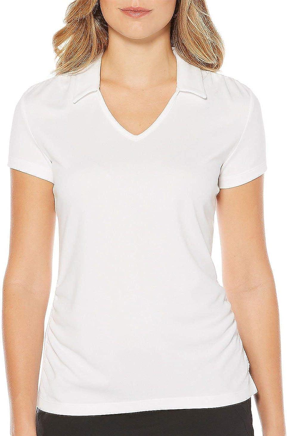 PGA TOUR Women's quality assurance Airflux Short Polo Sleeve Shirt Golf Outlet sale feature