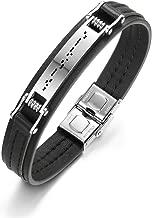 morse code bracelet men