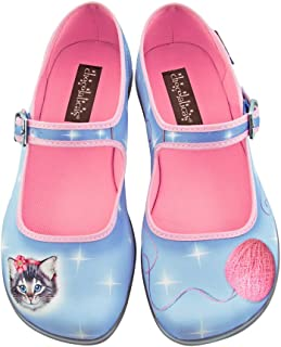 Hot Chocolate Design Chocolaticas Sussy Cat Women's Mary Jane Flat