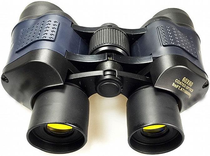 ZUWYJ Jumelles Binoculaires 60X60 avec Télescope à Film Vert Haute Définition à Haute Définition