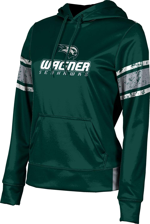 Wagner College Girls' Pullover Hoodie, School Spirit Sweatshirt (End Zone)