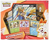 Pokemon TCG: Galar Collection Scorbunny Box | 4 Booster Pack, Multicolor