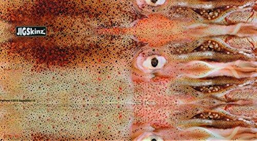 JigSkinz JZRLSQ-L4 Real Life Squid Fishing Reel Care Accessories