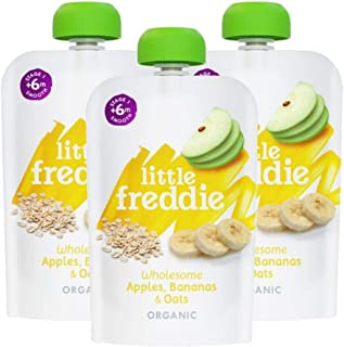 Little Freddie Wholesome Apples, Bananas & Oats, 100 g
