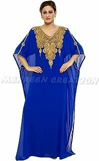 New Top Selling Bridal Wear Maghribi Kaftan Dress for Arabian Ladies 1015