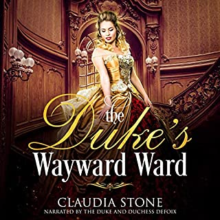 The Duke's Wayward Ward audiobook cover art