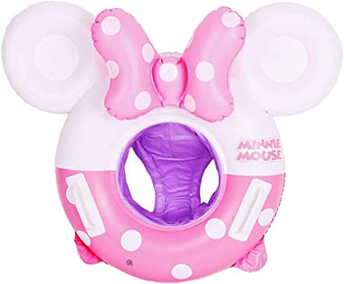 MC TTL Swimming Float Minnie Mouse Cartoon Kids Baby Swimming Ring Inflatable Pool Floating Round Pool Children Toy Float Thi
