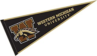 College Flags and Banners Co. Western Michigan University Pennant Full Size Felt