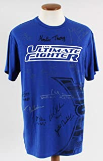 The Ultimate Fighter: Live Multi-Signed Shirt - Team Faber - COA - Autographed UFC Jerseys and Trunks