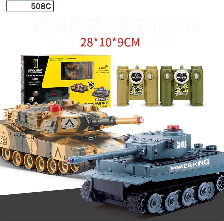 WEIGZ Fernbedienung SUV-Spielzeug Kampf Puzzle Militr-Panzer-Spielzeug