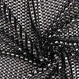 Netzstoff Ritterrüstung Struktur – altsilber —