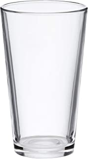 AmazonBasics Pint Pub Beer Glasses, 16-Ounce, Set of 6