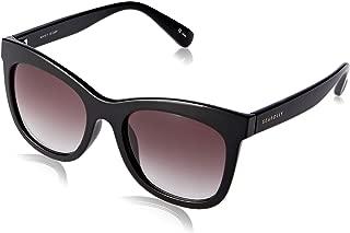 Seafolly Women's Manly SEA1812689 Cateye Sunglasses,Black,52 mm
