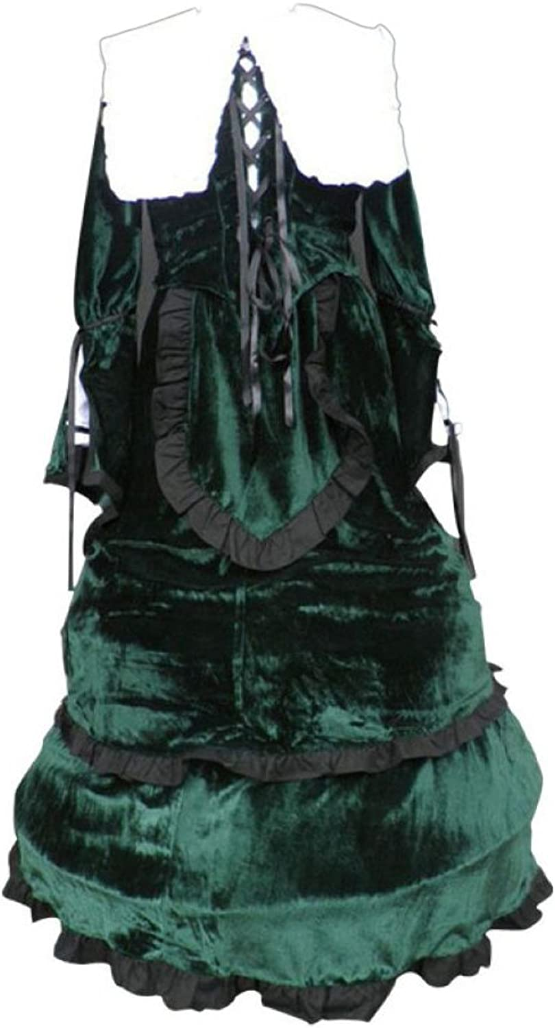 Dream2Reality japanische Anime Rozen Maiden Cosplay Kostuem  Suiseiseki  Jade Stern  Outfit 1st Ver Kid Size Large
