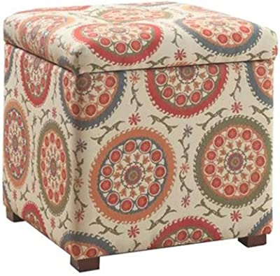 Amazon.com: Storage Stool-can Sit People Toy Storage Box ...