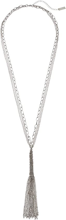 Steve Madden - Chain Tassel Necklace