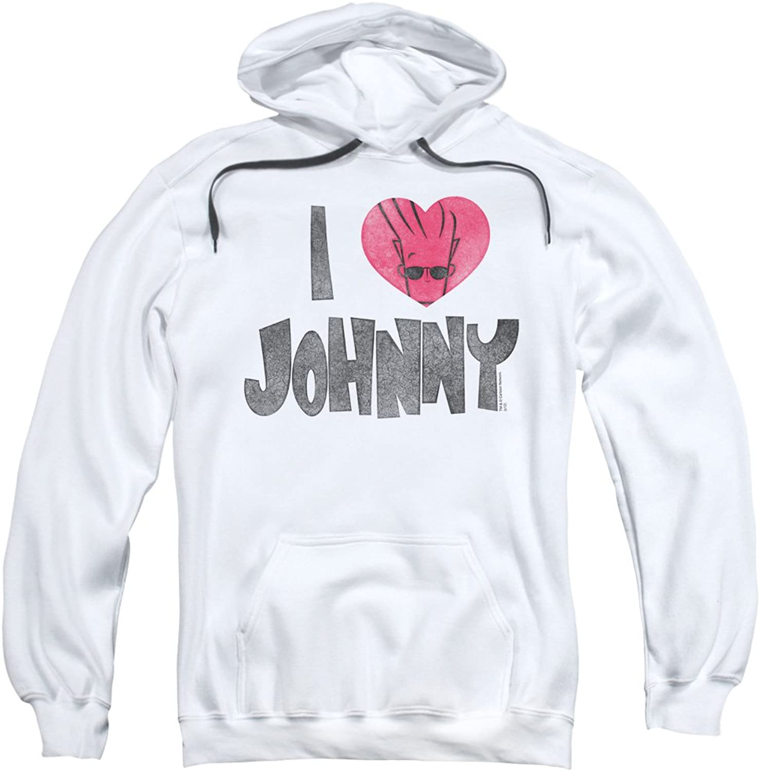 Johnny Bravo - Herren I Heart Johnny Kapuzenpulli