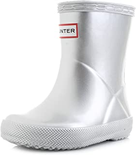 18146eb5bc3a0 Amazon.com: Silver - Rain Boots / Outdoor: Clothing, Shoes & Jewelry