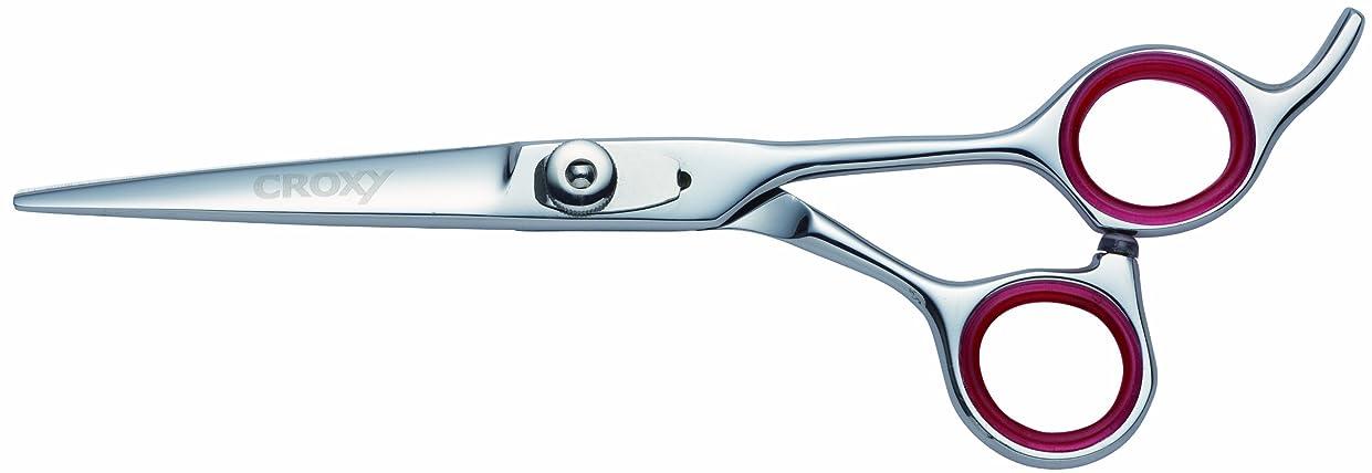 サンダー標準ミットCROXY 職人手作り プロ用美容バサミ Excellentシリーズ ヨーロッパ先進デザインシザー EX1010、6インチ
