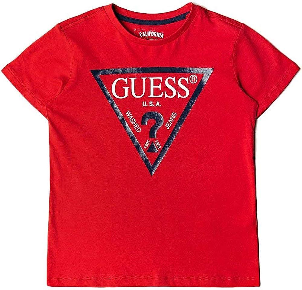 Guess,maglietta, t-shirt per  bambino-ragazzo,dagli 8 ai 16 anni,100% cotone L73I55K5M20