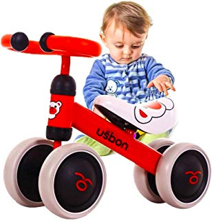 Baby Balance Bike, Ride on Scooter, Mini Bike, Bicycle for Children Riding Toy Balance Baby Walker Push Car Walking Buddy Bike for Baby Kid Toddler Indoor Outdoor Activities 6-48 Months