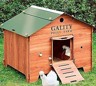 FINCA CASAREJO Gallinero para Exterior Fabricado en láminas de HPL para 4-6 gallinas ¡