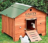 FINCA CASAREJO Gallinero para Exterior Fabricado en láminas de HPL para 4-6 gallinas...